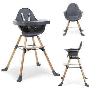 Childhome Evolu ONE.80 Rotating Highchair with Tray And Bumper (in Anthracite) for £104.95 delivered @ Online4Baby