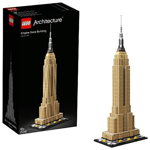 LEGO 21046 Architecture Empire State Building New York Landmark Collectible Model Building Set £51.89 @ Amazon