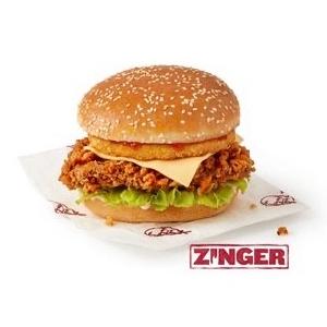 50p Tower Burger / Zinger Tower Burger (order & collect) via KFC App