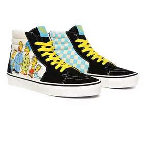 Upto 30% off The Simpsons Vans + an extra 15% off with code (Possible 20%) + Free delivery @ Vans