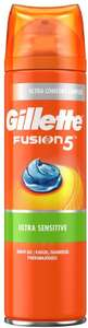 Gillette Fusion 5 Ultra Sensitive Men's Shaving Gel 200ml is £2 (+£4.49 NP) Delivered @ Amazon (£1.90 S&S/ £1.50 First S&S Order)