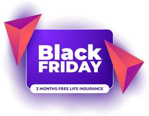 Get the cost of 3 Months life insurance back as Amazon Gift Cards when you take out a policy