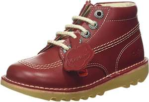 Children's red kickers from £26.44 (Size 7 Infant) @ Amazon