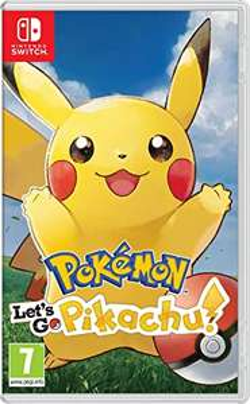 Pokemon Let's Go Pikachu & Luigi's Mansion 3 £35 each at Asda (Slough)