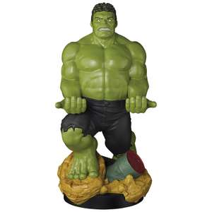 Marvel Collectable XL Hulk 12-Inch Cable Guy console / phone stand for £16.99 delivered using code @ Zavvi