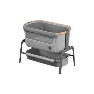 Maxi-Cosi Iora Bedside Crib with Easy Slide Function, Suitable from Birth, 0 Months - 9 kg, Essential Grey £132 @ Amazon