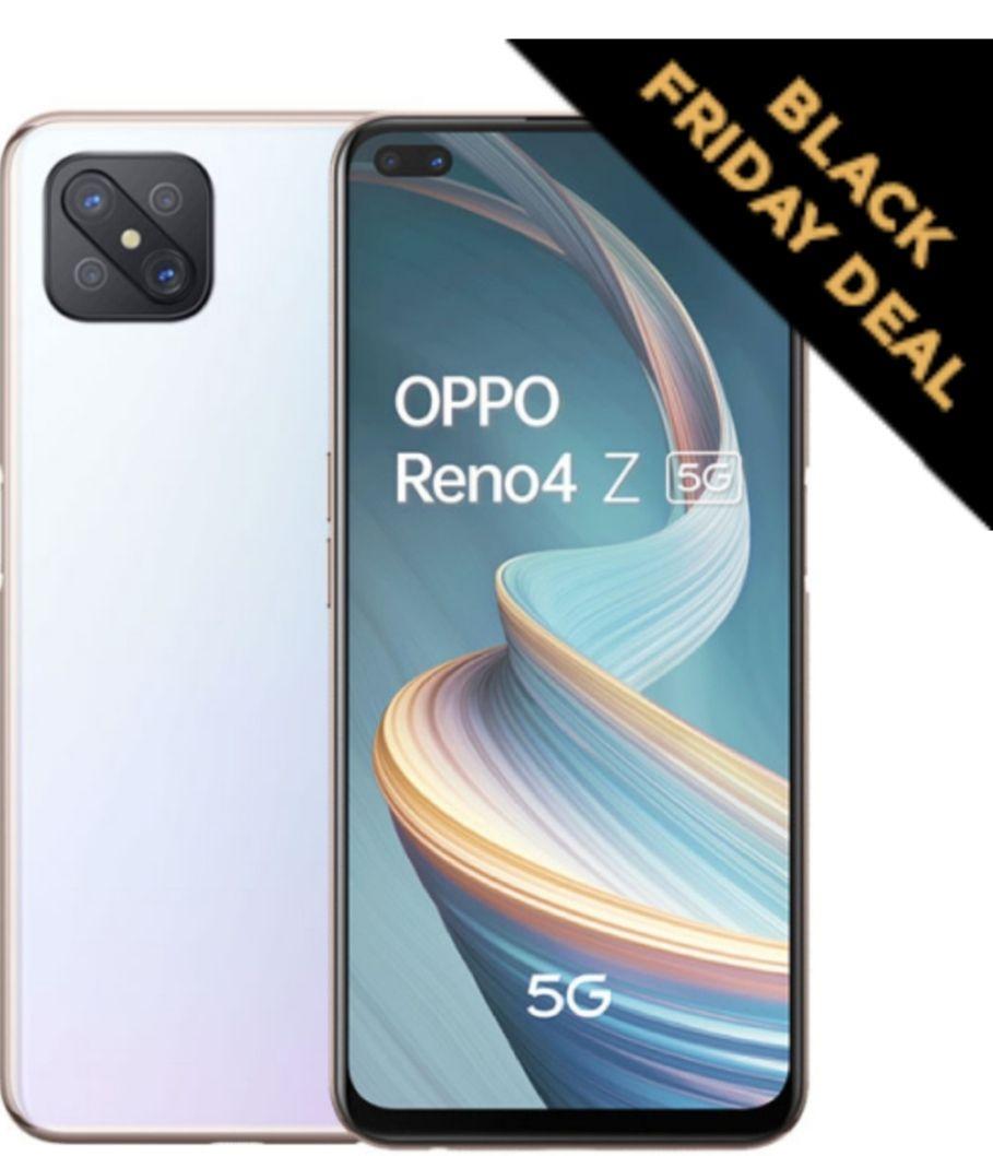 Reno4 Z 5G 8GB RAM +128 GB ROM - £221.47 using code @ Oppo Mobiles
