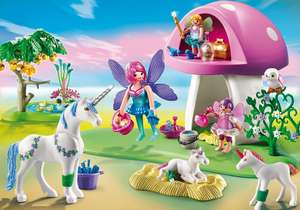 playmobil 6055 Fairies with Toadstool House - £14.99 (+£3.50 Shipping) @ Playmobil Shop