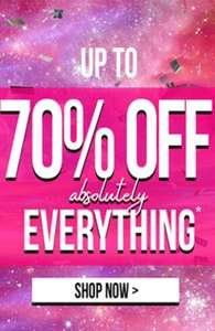 Up to 70% off + Extra 25% off with codes Plus Free Delivery From Roman Originals