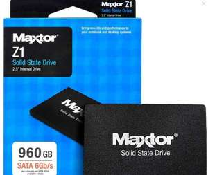 """Seagate Maxtor Z1 960GB 2.5"""" SATA SSD £69.36 with code @ Ebuyer / eBay (code for nectar card holders)"""