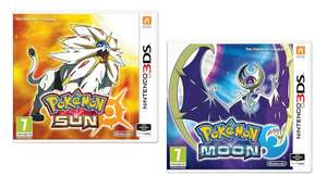 Pokemon Sun / Pokemon Moon (3DS) - £14.39 Each - Delivered With Nectar Members Code @ Bossdeals/eBay
