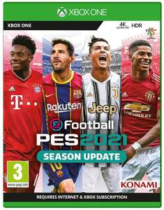 eFootball PES 2021 SEASON UPDATE (Xbox One) - £12.85 Delivered @ Base
