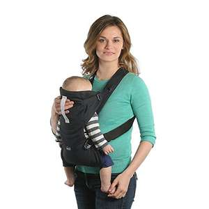 Chicco Easy Fit – Chicco Easy Fit – Ergonomic Baby Carrier, 0 to 9 kg, Black (Black Night) £15 (Prime) + £4.49 (non Prime) at Amazon