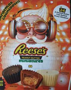 Reeses peanut butter cups advent calander and Hersheys cookie & cream advent calanders now £2.49 @ lidl
