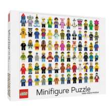 LEGO (R) Minifigure 1000-Piece Jigsaw Puzzle £12.85 delivered @ Hive