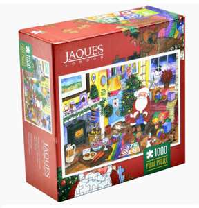 Two 1000 piece Xmas jigsaw puzzles for £4.99 - delivered @ Jacques of London