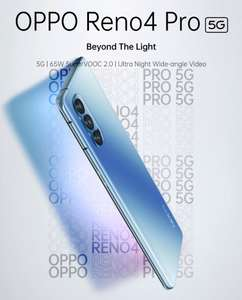 Oppo Reno4 Pro 5G (12GB + 256GB) for £447.20 delivered using code @ technolec_uk / eBay