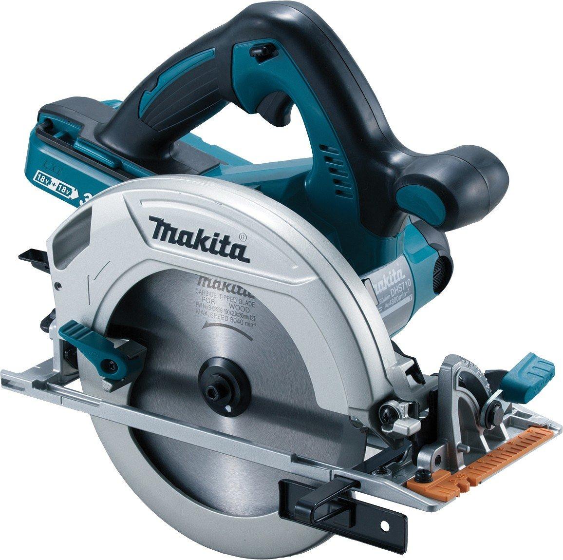 Makita DHS710ZJ Twin 18V 185 mm Circular Saw with MakPac case £143 @ Howe Tools