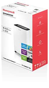 HONEYWELL 12 Litre Portable Dehumidifier TP Compact Eco Friendly £119 Amazon sold by The Great Product Group