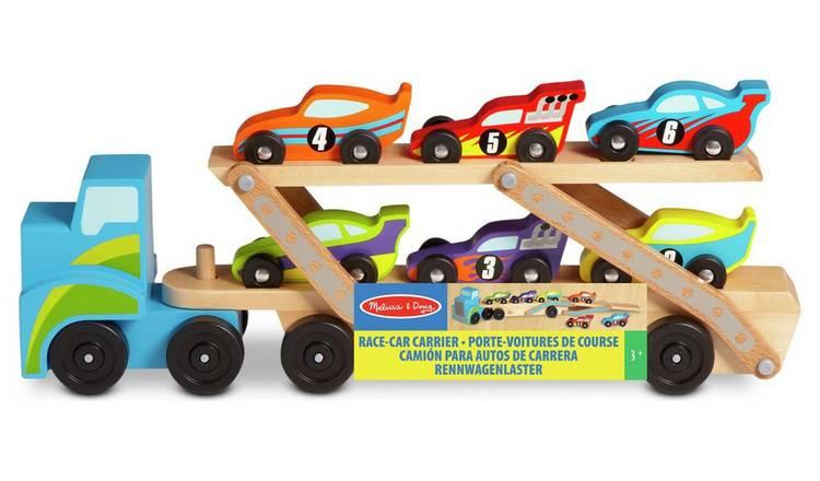Melissa & Doug Jumbo Race Car Carrier £11.50 free click and collect at Argos