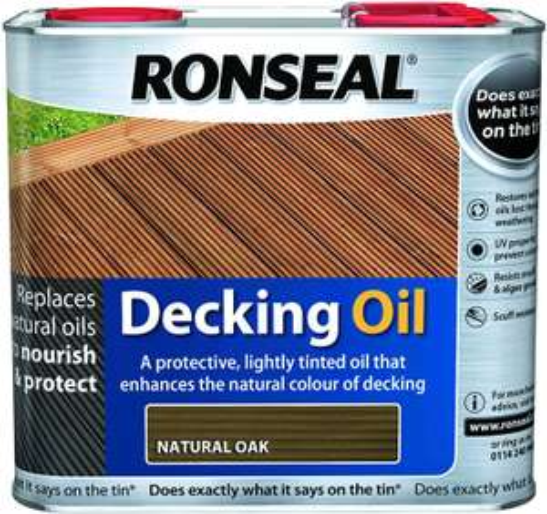 Ronseal Docking Oil Natural 2.5l - £3 instore @ Tesco Extra Sunderland Roker