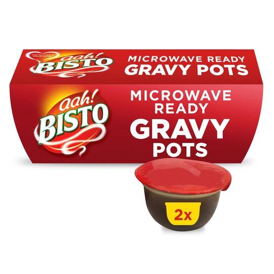Bisto Microwave Gravy / Sauce Pots Free With Code @ Tesco