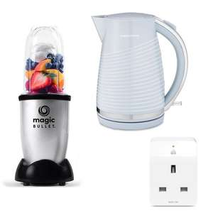 TP-Link KP105 Smart Plug for £4.99 with small appliance purchase e.g. Dune Kettle & TP Plug £19.98 / Nutribullet & TP Plug £24.98 @ Currys