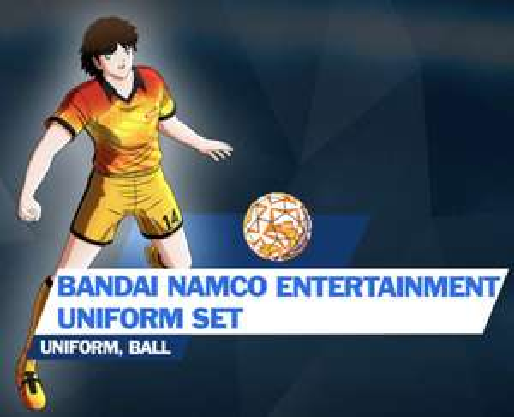 Captain Tsubasa: Rise of New Champions - Bandai Namco Entertainment Uniform Set DLC (Playstation 4/ Switch/ PC) Free