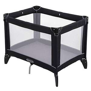 Graco Compact Travel Cot (Birth to 3 Years Approx.) with Signature Graco Push-Button Fold £25.99 @ Amazon