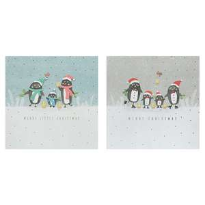 Selected Christmas Cards 10 Packs Half Price £1 at Tesco