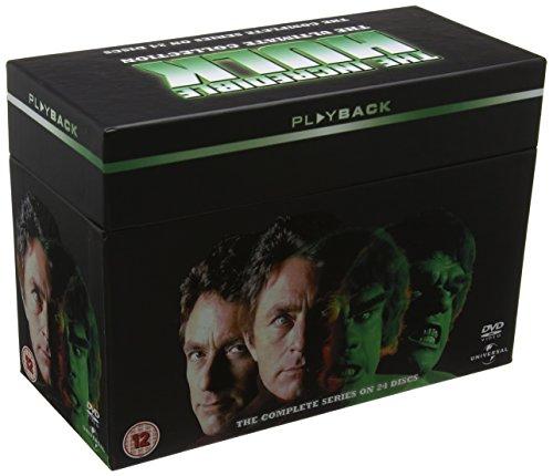 The Incredible Hulk: The Complete Seasons 1-5 DVD Box Set £15.99 (Prime) + £2.99 (non Prime) at Amazon