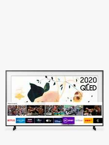 Samsung The Frame (2020) QLED Art Mode TV with No-Gap Wall Mount, 50 inch £799 - 5 year guarantee @ John Lewis & Partners