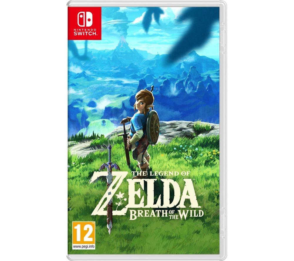 Zelda Breath of the Wild Nintendo Switch £42.99 @ Amazon