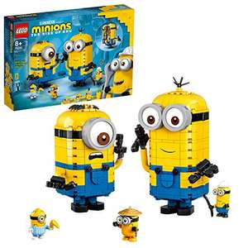 LEGO Minions 75551 Brick-Built Minions and Their Lair £35.98 @ Amazon