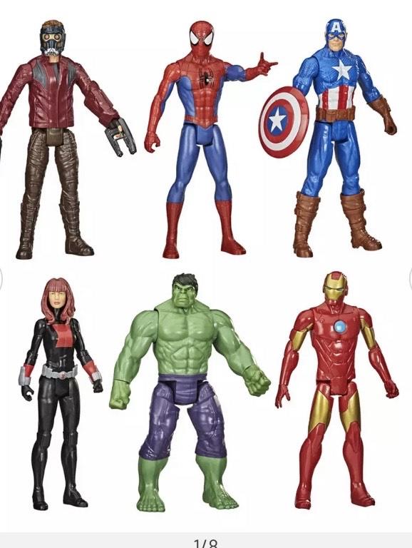 Marvel Universe Titan Hero Series Figure 6-Pack £35 @ Argos