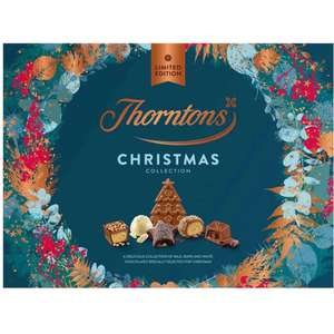 Thorntons Christmas Chocolate Collection Box 380G £5.00 @ One Stop