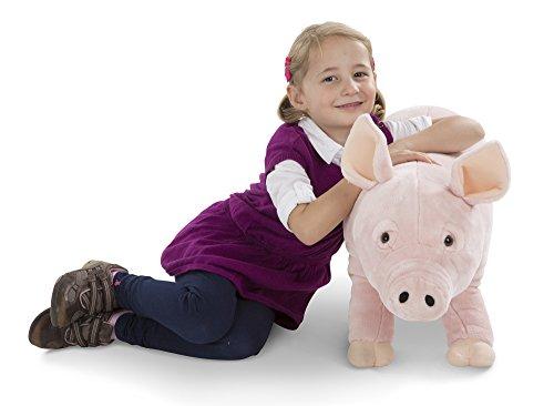 Melissa & Doug Pig - Giant Plush Soft Toy, 71cm £36 @ Amazon