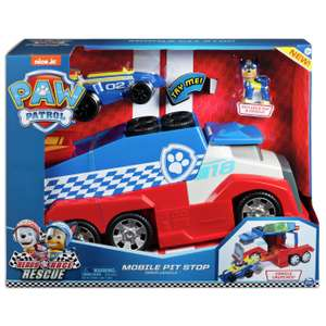 PAW Patrol Ready Race Rescue Mobile Pit Stop for £26.50 click & collect (+£3.95 delivered) @ Argos