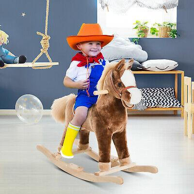 Plush Rocking Horse £27.99 Delivered @ eBay / 2011homcom