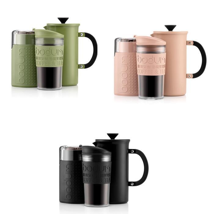 Bodum Tribute Coffee Sets - 1L Cafetiere / 1L Travel Mug / Blade Grinder - Various Colours - £25.46 Delivered Using Code @ Bodum