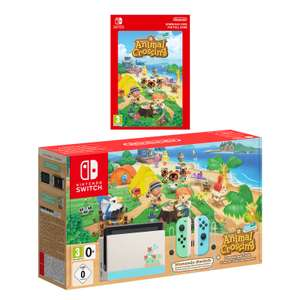 Nintendo Switch Animal Crossing New Horizon Edition £319.99 Back for pre-order Nintendo Official UK Store