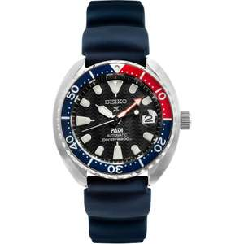 "Seiko Prospex PADI Men's Blue Silicone Strap Watch - ""Mini Turtle"" SRPC41K1 £244 with code at The Watch Hut"