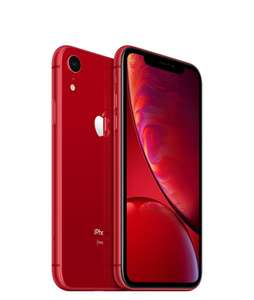 Apple iPhone XR, 128Gb - (PRODUCT)RED™ (Includes EarPods and Power Adapter) - £499 + free Click and Collect @ Very