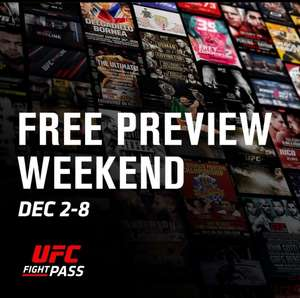 Free UFC Fight Pass for a week