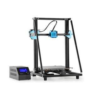 Creality CR-10 V2 3D Printer + 8GB SD Card [Non UK Plug] - 300 x 300 x 400mm Build Area - DE Warehouse £298.12 Delivered With Code @ Tomtop