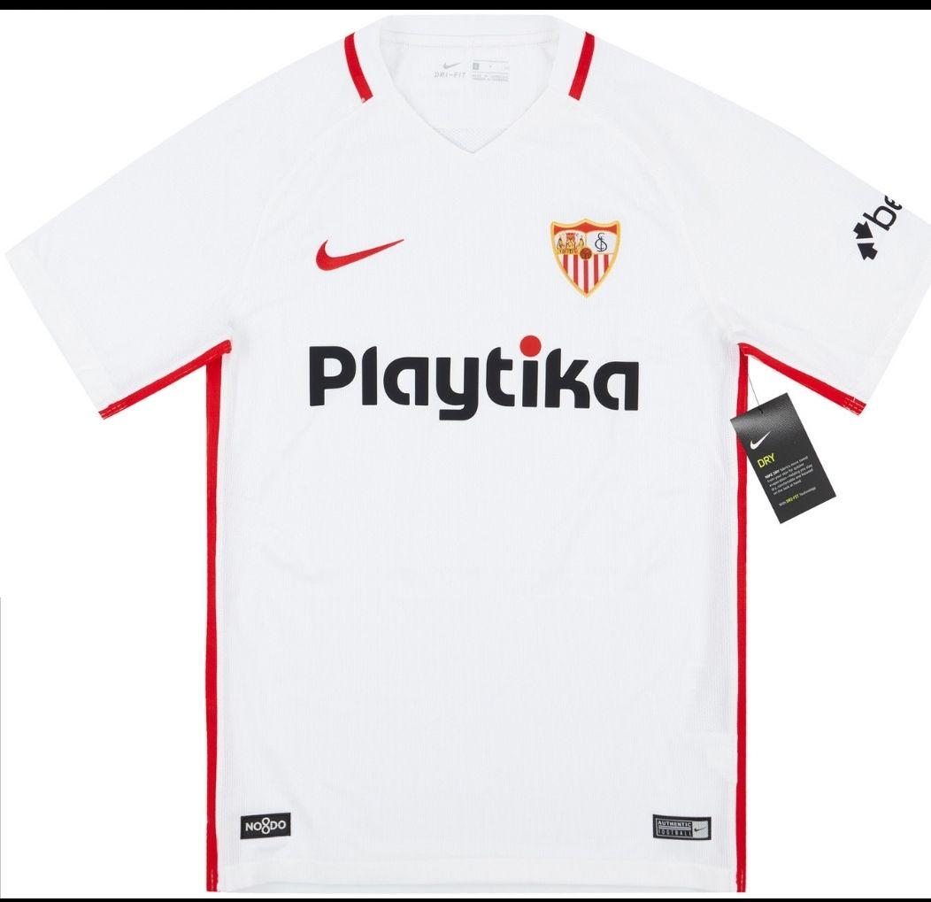 Sevilla Football Home Shirt 2018/19 £11.99 + £3.75 del at Classic Football Shirts