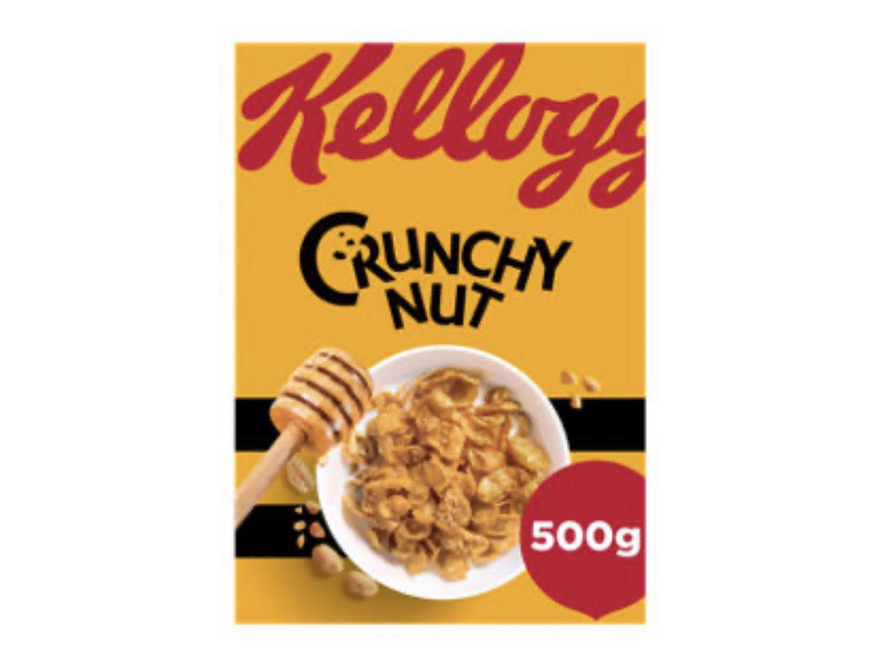 Kellogg's Crunchy Nut Corn Flakes 500g £2.50 at Asda