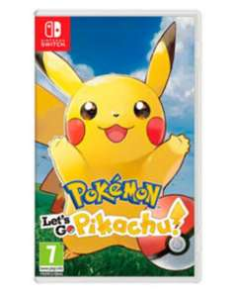 Pokemon: Let's Go, Pikachu! Nintendo Swith £35 @ Asda