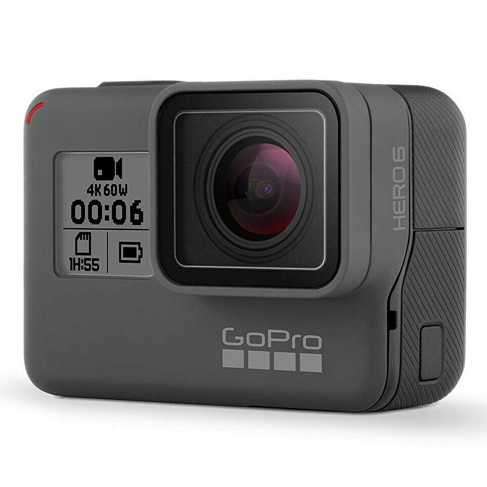 GoPro Hero 6 Black Action Camera + 2 Battery Bundle 4K HD - Certified Refurbished £169.99 @ ebay / gopro_certified_uk