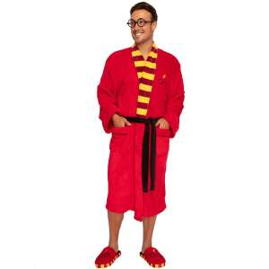 Harry Potter Classic Symbols Bathrobe with Matching Slippers £15.98 delivered @ Geekcore